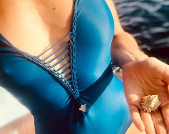 sustainable one-piece swimsuit