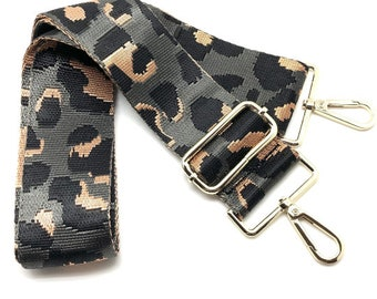 Crossbody bags Strap Felin\u00e9 Pink Leopard Print Purse Strap Purse Strap Replacement Gift for Her Over the Shoulder Strap