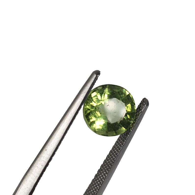 August Birthstone Custom Design Peridot Natural Burma Green Peridot Loose Peridot Oval Cut Perdiot- 2.11 Carat Peridot Gemstone