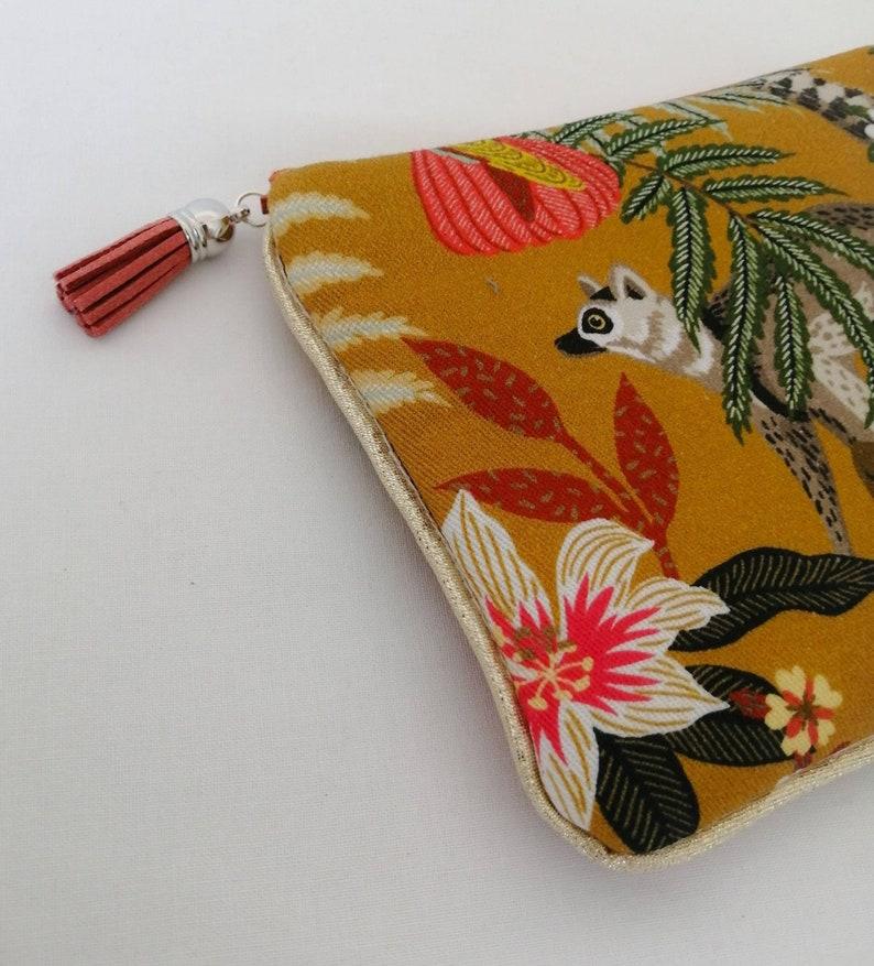 Exotic cotton soft clutch