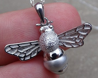 Bee Silver Pendant