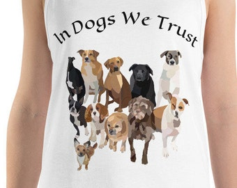 In Dogs We Trust / Dog Lover Top