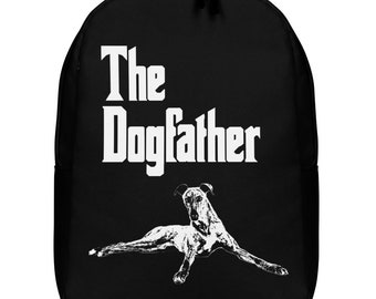 The Dog Father Greyhound Backpack