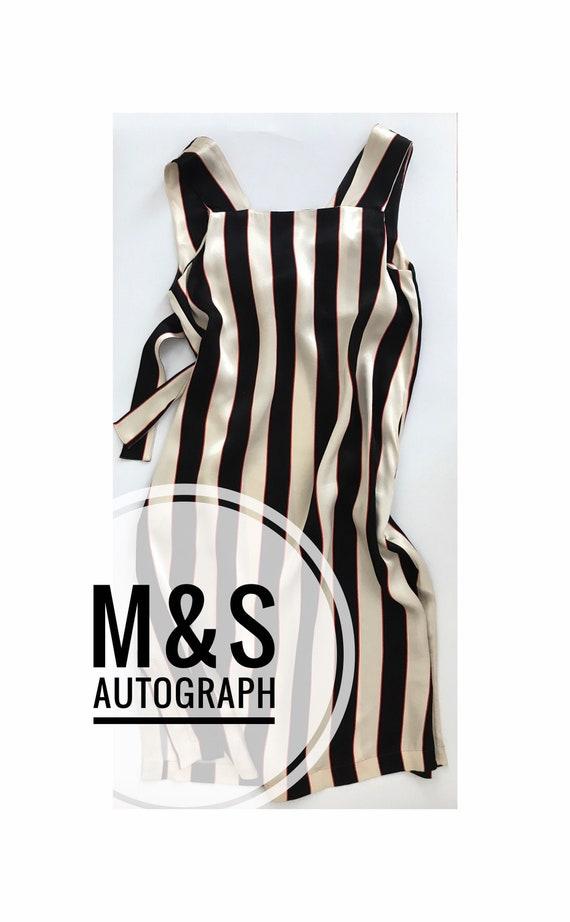 Mark&Spencer.  Autograph. Summer. Striped. Open Ba