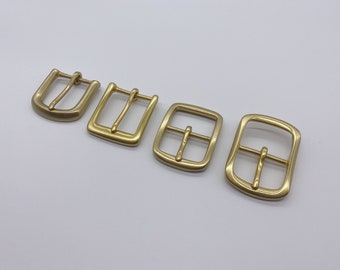 Brass belt buckle | Etsy