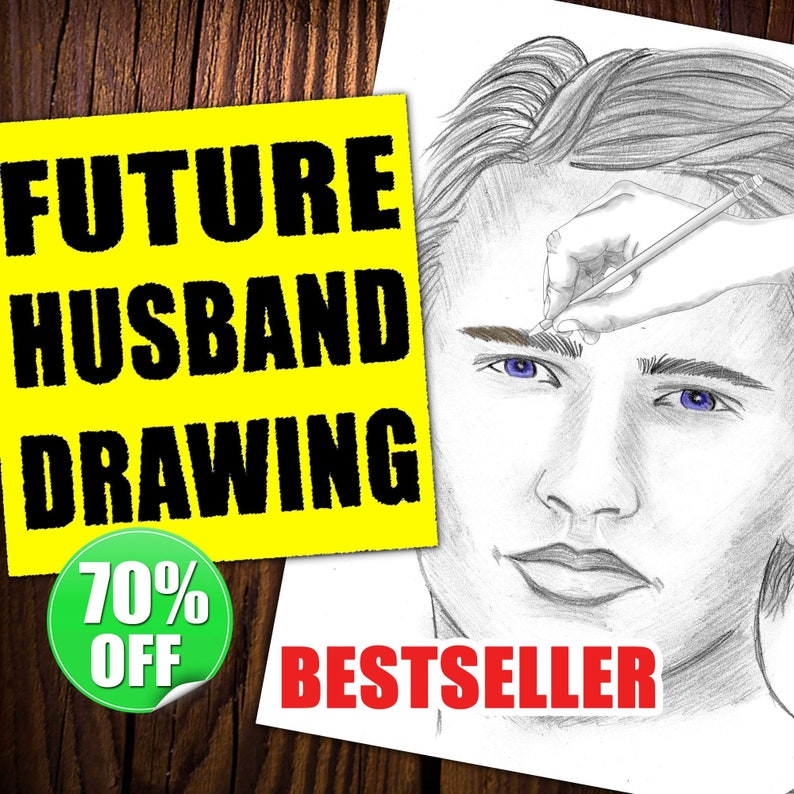 Future Husband Drawing I Will Draw Your TwinFlame Psychic image 0