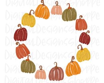 and Printables Crayon Mini Pumpkin Clipart for Digital Download Crayon Mini Pumpkin PNG Sublimation