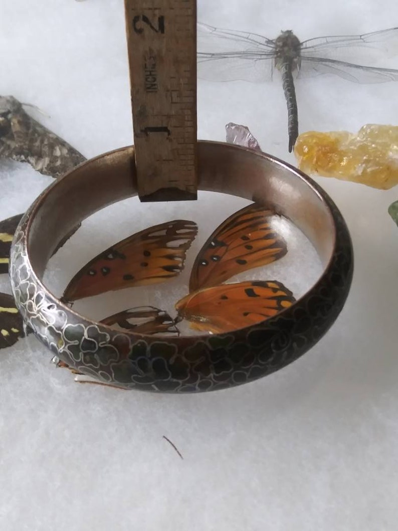 Vintage Closianne Thick Bangle Bracelet