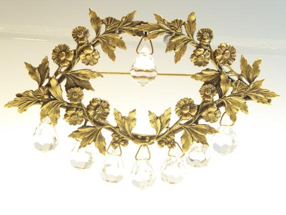 Vintage Joseff of hollywood signed chandelier Broo