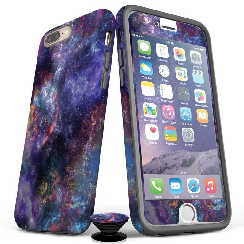 Space Case- 3 Screen Protectors-Phone Grip iPhone 11 iPhone 11 Pro iPhone 11 Pro Max iPhone XS Max Xs iPhone XR iPhone 8 7 6S SE