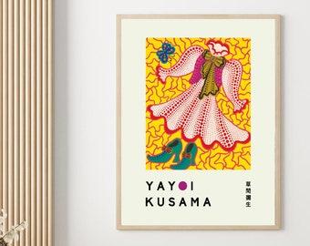 Yayoi Kusama - Print - Art Exhibition Poster - Replica