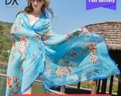 Silk Bandana Top Quality Beach Blankets Soft Cashmere Winter ScarfWarm Square Plaid Shawl Womens Scarves Hijab Foulard