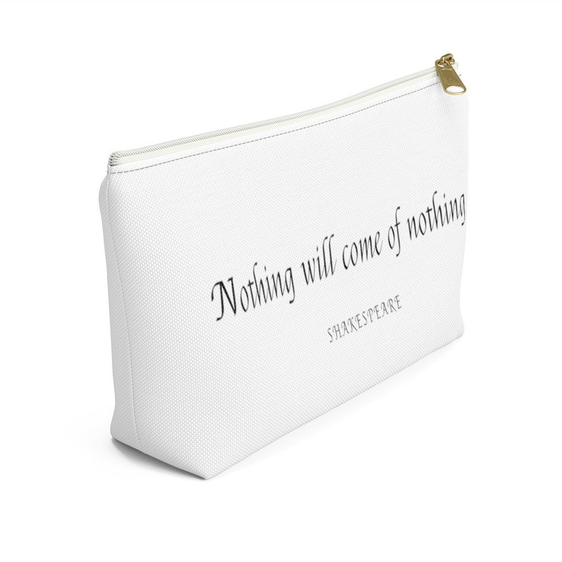 Shakespeare  Zipper Pouch  Author Quotes