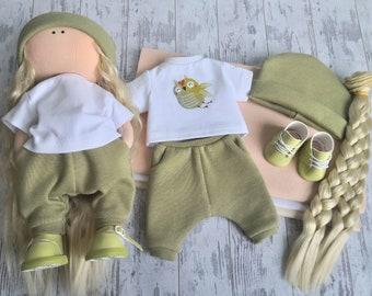 Khaki Canvas Sneakers For 1//3 Sd10 Girls BJD Dolls Dollfie 7cm PF