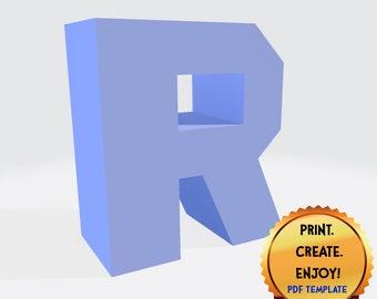 Letter R Vector Origami Logo icon   Origami logo, Lettering, Logo ...   270x340