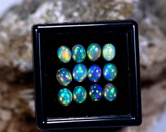 Ethiopian Welo 5x4mm Calibrated Opal 5.27cts Parcel Lot