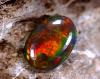 Fully Polished 1.61cts Ethiopian Welo Solid Opal