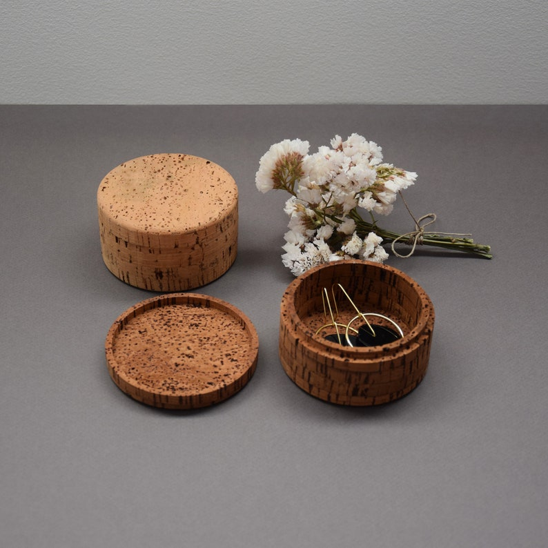 Jewellery Boxes Cork Boxes Homeware Natural Cork Gift for image 0