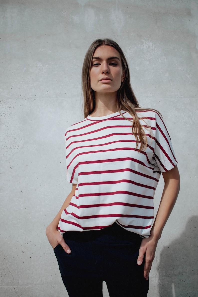 PDF Sewing Pattern PDF Oversized T-Shirt. PDF T-Shirt Easy image 0