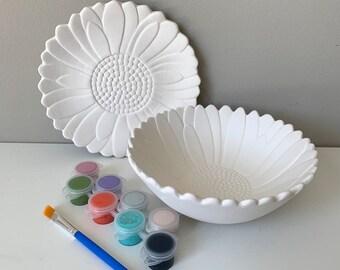 Ceramic Painting Kit Etsy