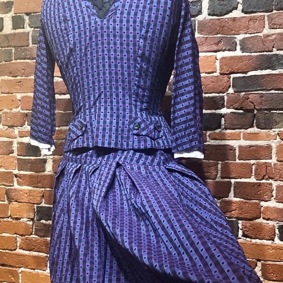 1950s BOBBIE BROOKS Button Down Top & Full Skirt