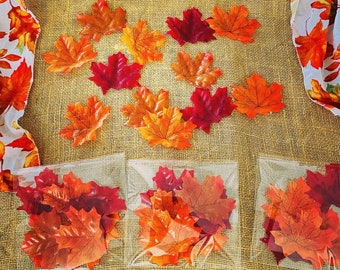 Fall Hand Dipped Soap Leaves