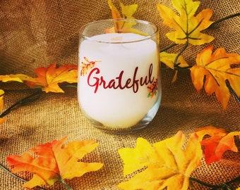 Grateful Candles in Pumpkin Spice