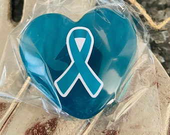 Ovarian Cancer Awareness Soaps in Pink