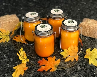 Pumpkin Spice  Candles with Wood Wicks