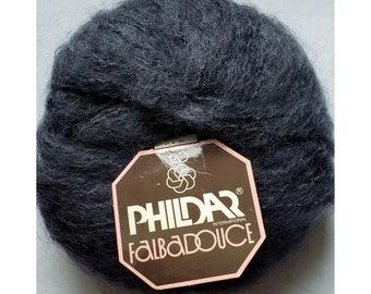 Phildar Phil folk 50 sock yarn 75-25 wool and poli 50gms color aluminum 110 1 ball