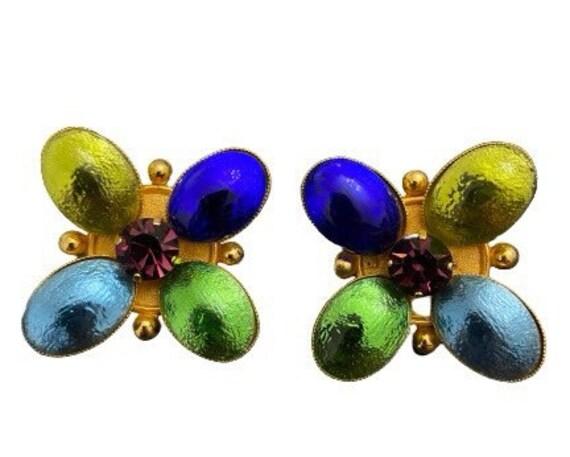 Philippe Ferrandis Vintage Earrings
