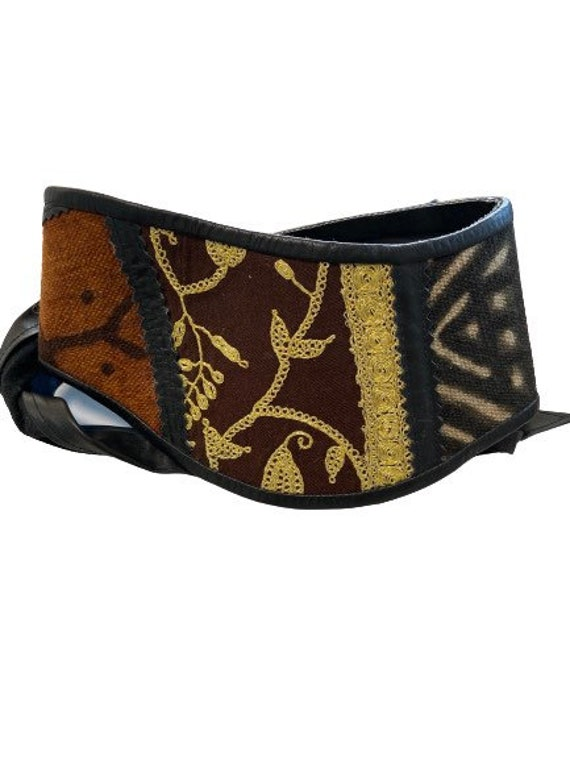 Vintage Laise Adzer leather belt