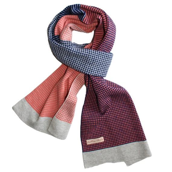 Cara Lambswool scarf (reversible)