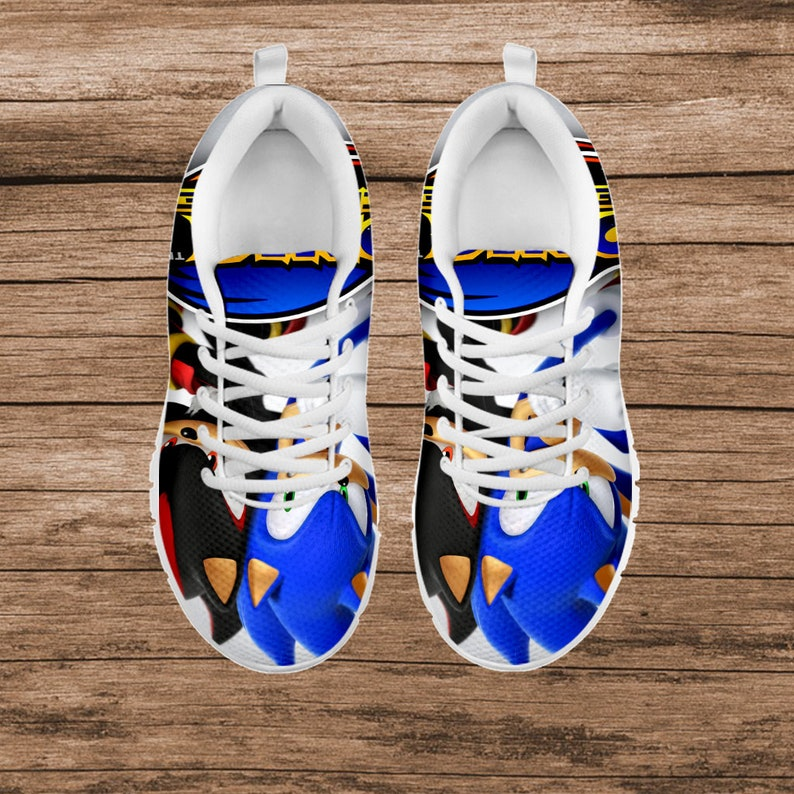 Hedgehog Sonic Hedgehog Sneaker Sonic Invitation Sonic Sneaker Sonic Printable Custom Shoes