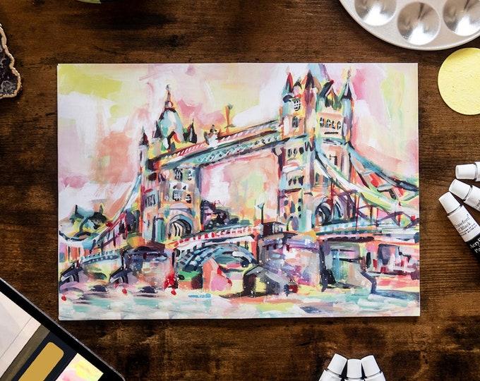 London Tower Bridge with Anna Louise Felstead