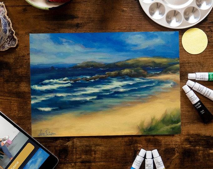 Cornish Coast - Painting Kit