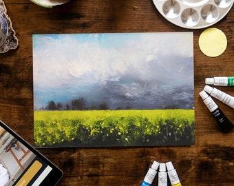 Golden Landscape - Painting Kit