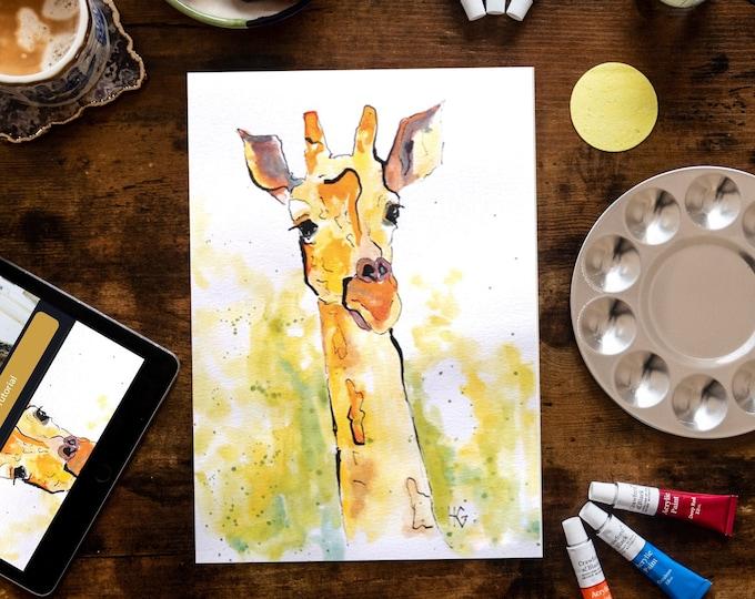 Yorkshire Giraffe with Harriet Gillett