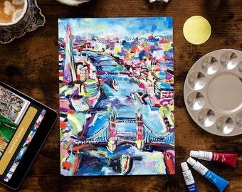 London - Painting Kit