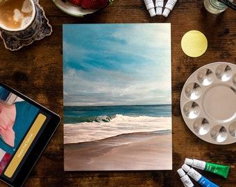 Devon Seascape - Painting Kit