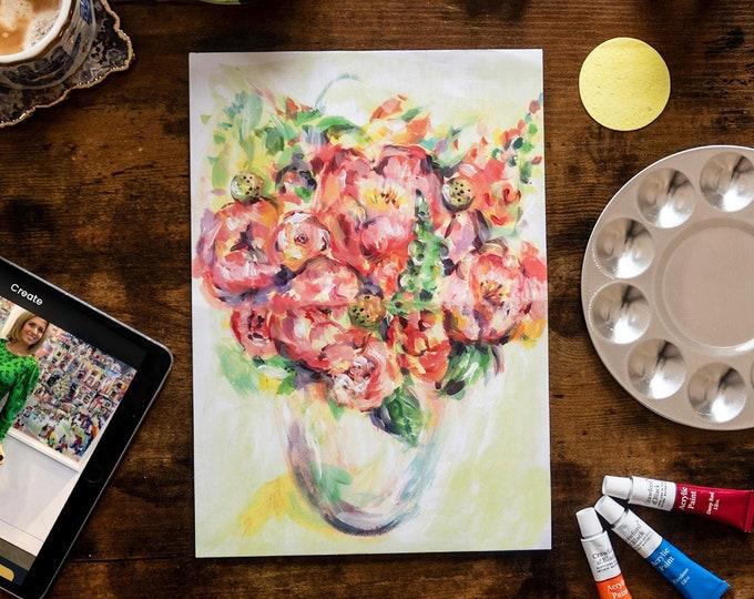 Peonies - Painting Kit