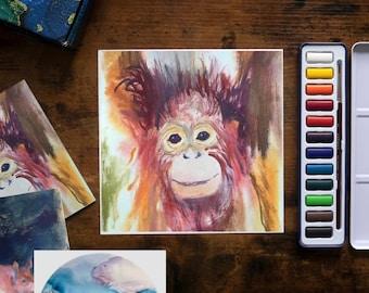Wildlife in Watercolour - with Harriet Gillett