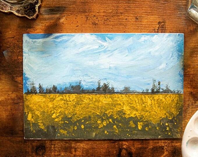 Golden Landscape with Georgie Mason