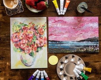 Pretty in Pink - Artist's Gift Set