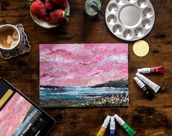 Pink Skies - Painting Kit