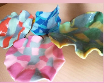 The Stoned Soap Cot, Clay Soap Holder for sinks, bath decor, handmade