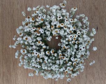 Dried Wreath, Flower Wreath, Indoor Wreath, Kitchen Wreath