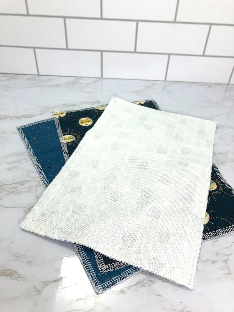 Rainbow /& Stars Unpaper Towels; Reusable Towel; 2 Ply Towel; Cloth Paper Towels; Reusable Paper Towel; Eco-Friendly Gift