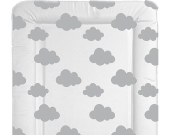 Standard Changing Pad Cover  IKEA Vadra Change Pad Organic Watercolor Gray Herringbone Organic changing pad
