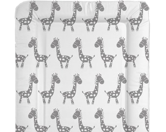Deluxe Unisex Baby Waterproof Changing Mat with Raised Edges Black /& White Arrow Design